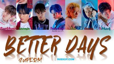 Lirik Lagu Better Days [ SuperM ] & Terjemahan Lengkap