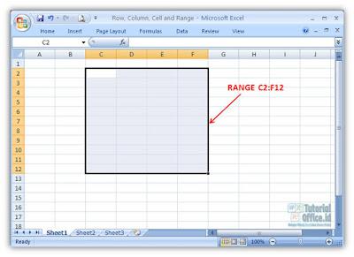 Range Microsoft Excel