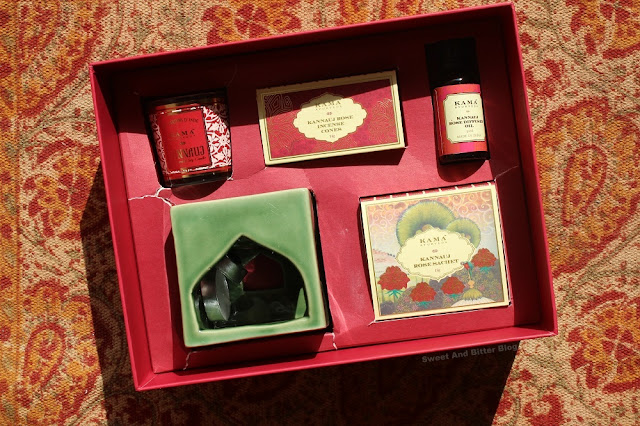 Inside the Kama Ayurveda Kannauj Limited Edition Box