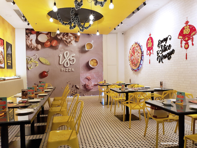 Pizza 185 restaurant over at IOI Mall, Puchong