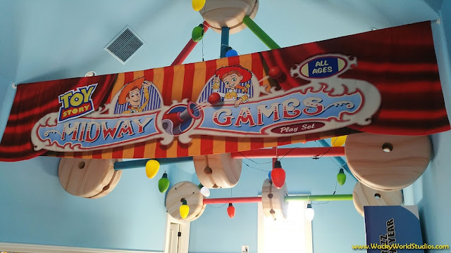 Toy Story Themed Room in Disney's Golden Oak