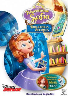 Princesinha Sofia: A Biblioteca Secreta - DVDRip Dublado