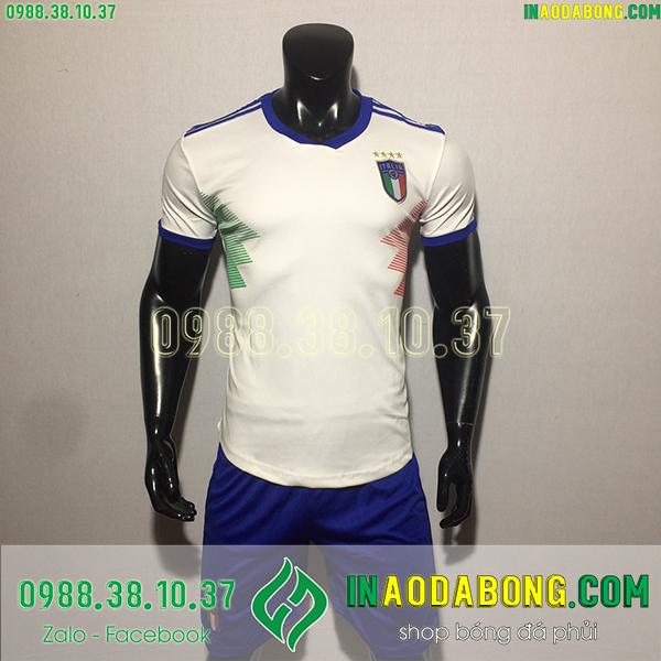 Áo bóng đá đội tuyển Italia 2020 màu trắng