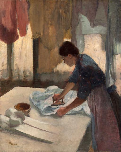 Эдгар Дега - Гладильщица (1887)
