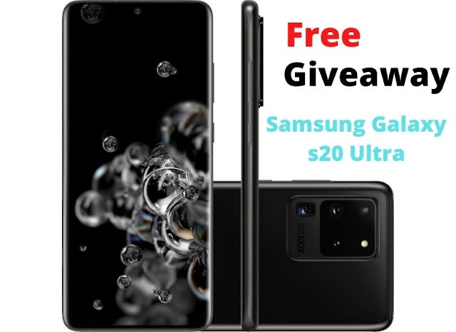 Samsung galaxy s20 ultra | Free Giveaway Offer UK