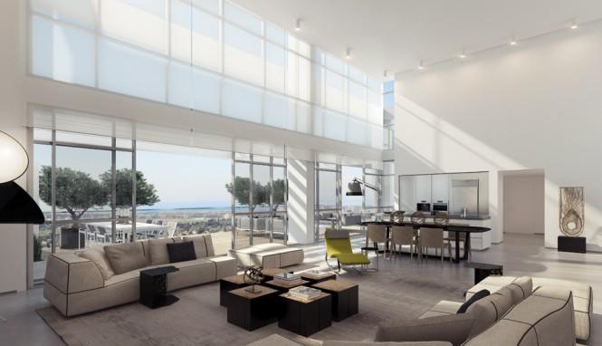 Hogares frescos dise o de interiores apartamento de for Apartamentos disenos modernos