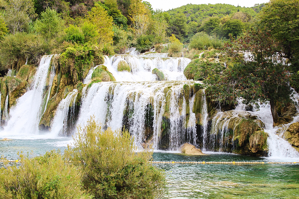 Nationalpark Krka Wasserfall