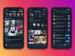 Cara Mengaktifkan Dark Mode Pada Instagram di Android dan iOS