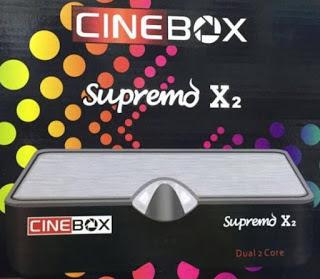 CINEBOX SUPREMO X2 NOVA ATUALIZAÇÀO