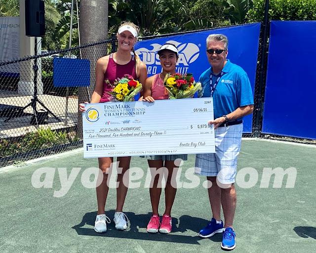 Aldila Sutjiadi Juara ITF W100K Bonita Springs