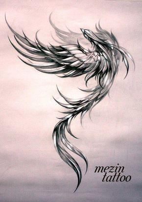 40 Mysterious Phoenix Tattoos and Meanings