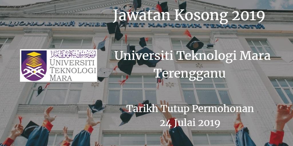 Jawatan Kosong UiTM Terengganu 24 Julai 2019