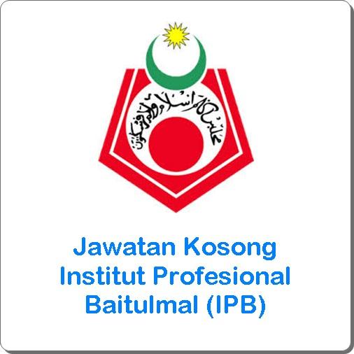 jawatan kosong Baitulmal 2016, jawatan kosong Institut Profesional Baitulmal (IPB) terkini, cara memohon kerja kosong Baitulmal 2016