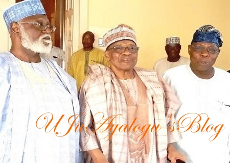 At Last, What Obasanjo, IBB, Abdulsalami Discussed At Minna Secret Meeting REVEALED Amidst Mixed Reactions