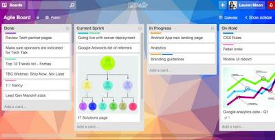 5 Aplikasi Untuk Tingkatkan Produktivitas Bisnis Tim Anda, Sudah Install? - Aplikasi Trello