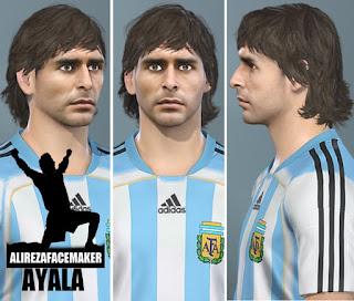 PES 2020 Faces Roberto Ayala by AliReza