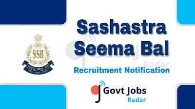 SSB recruitment notification 2019, govt jobs in india, govt jobs for 10th pass, govt jobs for sports quote, central govt jobs