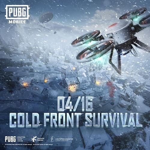 Cold Front Survival ra đời giúp PUBG duy trì được sức hấp dẫn