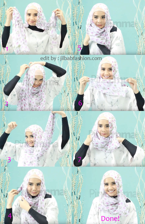 Tutorial Hijab Sehari Hari Zaskia Sungkar Yang Paling Populer