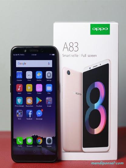 Spesifikasi OPPO A83 dan Harganya Memiliki RAM 2GB, 3GB dan 4GB Kamera 50MP