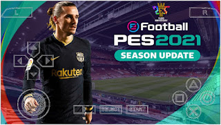 Download PES 2021 PPSSPP Chelito V8.1 FC Bercelona Edition English Version Best Graphics New Face  & Latest Transfer