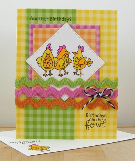 Birthdays can be fowl by Beverly features Cluck by Newton's Nook Designs; #newtonsnook