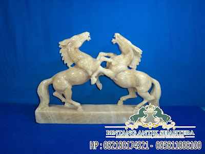 Patung Kuda Onix | Jual Patung Kuda Marmer