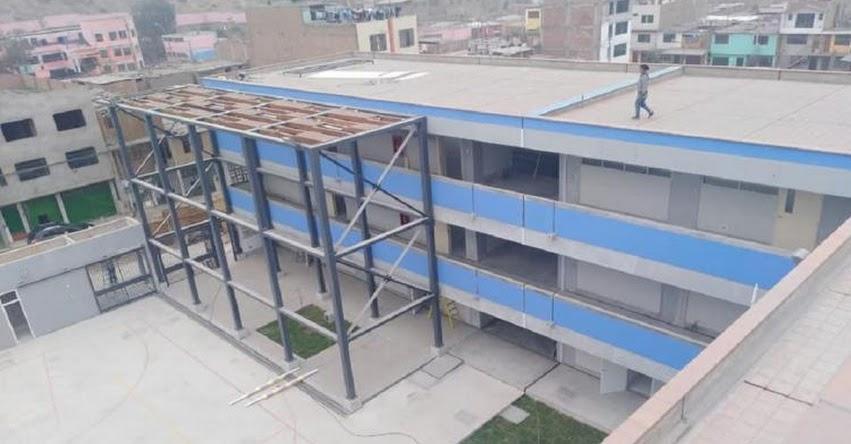 PRONABEC: Minedu invirtió casi seis millones de soles en remodelación de la IE 0141 Virgen de Cocharcas de San Juan de Lurigancho - www.pronabec.gob.pe