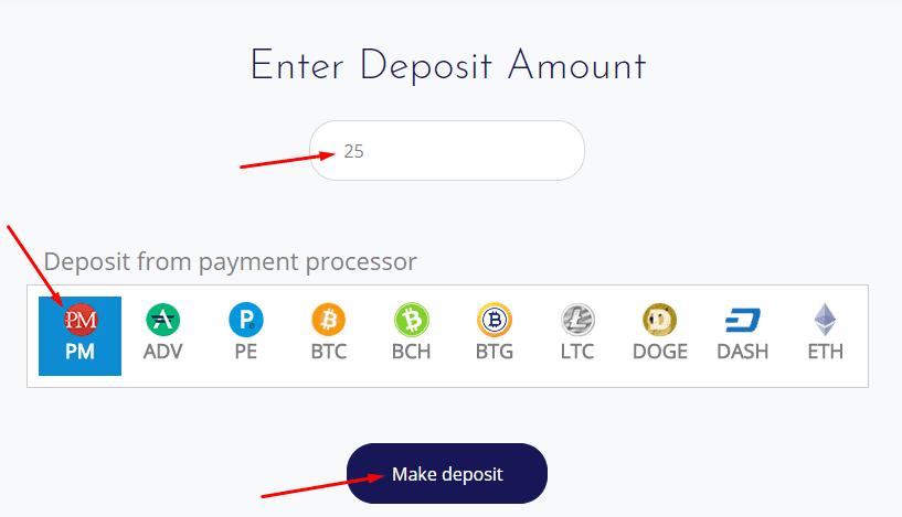 Регистрация в NeoCrypto 4