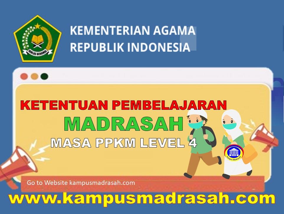 Surat Edaran Ketentuan Pembelajaran Di Madrasah