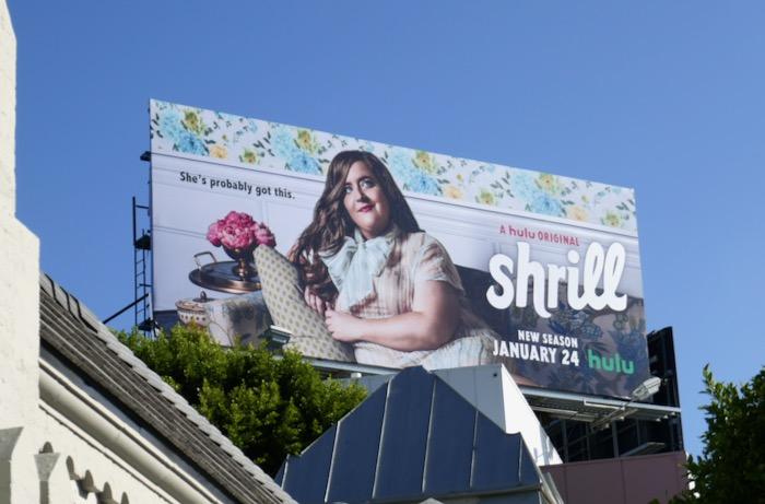 Shrill season 2 Hulu billboard