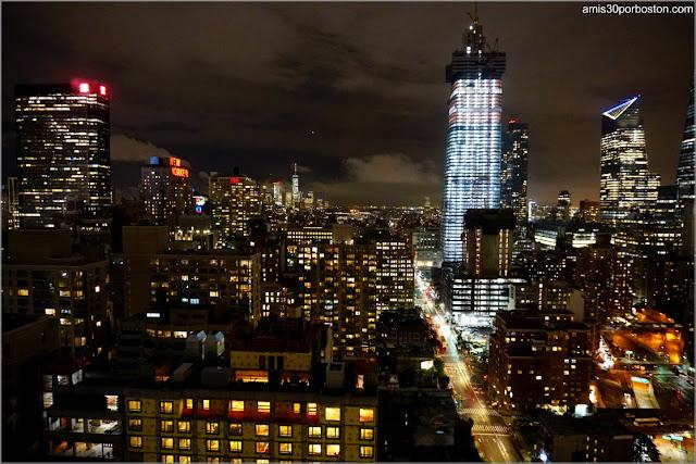 Vistas Nocturnas desde la Terraza del DoubleTree by Hilton Hotel New York Times Square West