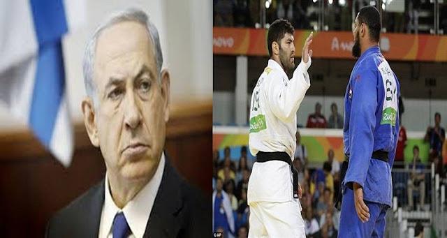 شاهد ماذا قال  نتنياهو بعد رفض إسلام الشهابى مصافحة اللاعب الإسرائيلي