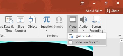 Cara Mudah Memasukkan Video Ke Dalam Powert Point