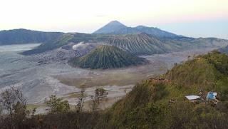 Isla de Java, Monte Bromo.