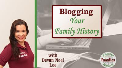 Genealogy Blogging Webinar Thumbnail