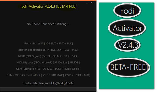 FodilActivator V2.4.3 [BETA-FREE]   Free Serial Registred