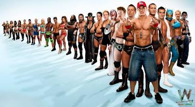 صور ابطال المصارعة الجديدة