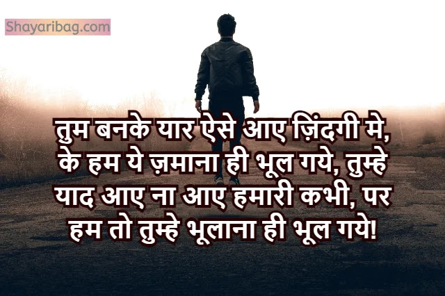 Yaari Dosti Shayari Status in Hindi