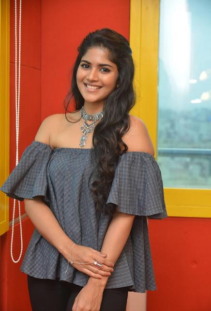 Meghana Akash Tollywood Actress Exclusive Photos At Radio Mirchi Actress Trend