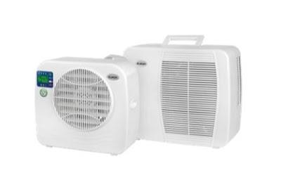 Mobile AC Klimaanlage für Camping, Vanlife und Overlanding mit SPLIT verfahren und Solar-tauglich