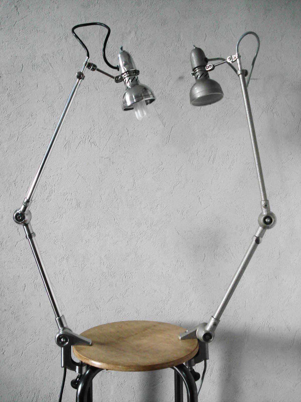 lampe de bureau a pince etau. Black Bedroom Furniture Sets. Home Design Ideas