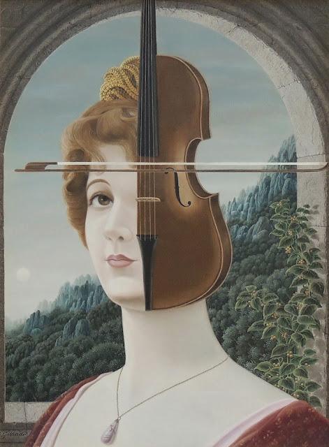 Gervasio Gallardo pintura surrealismo retrato