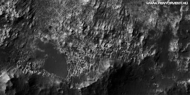 Ősi romvárost találtak a Marson