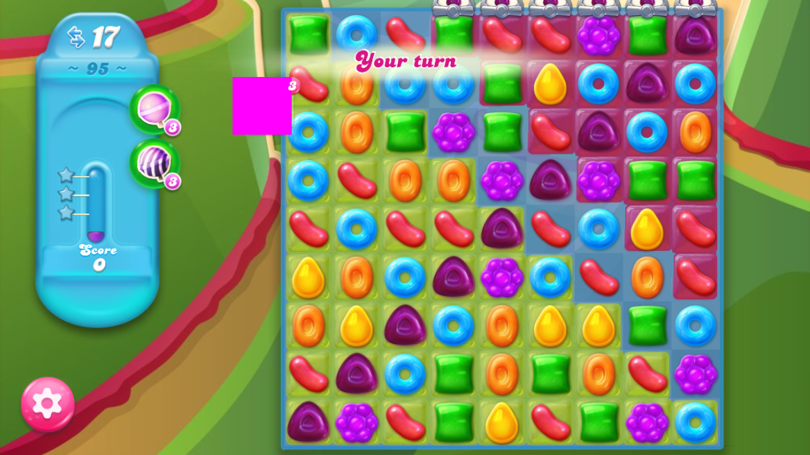Candy Crush Jelly Saga saga 95