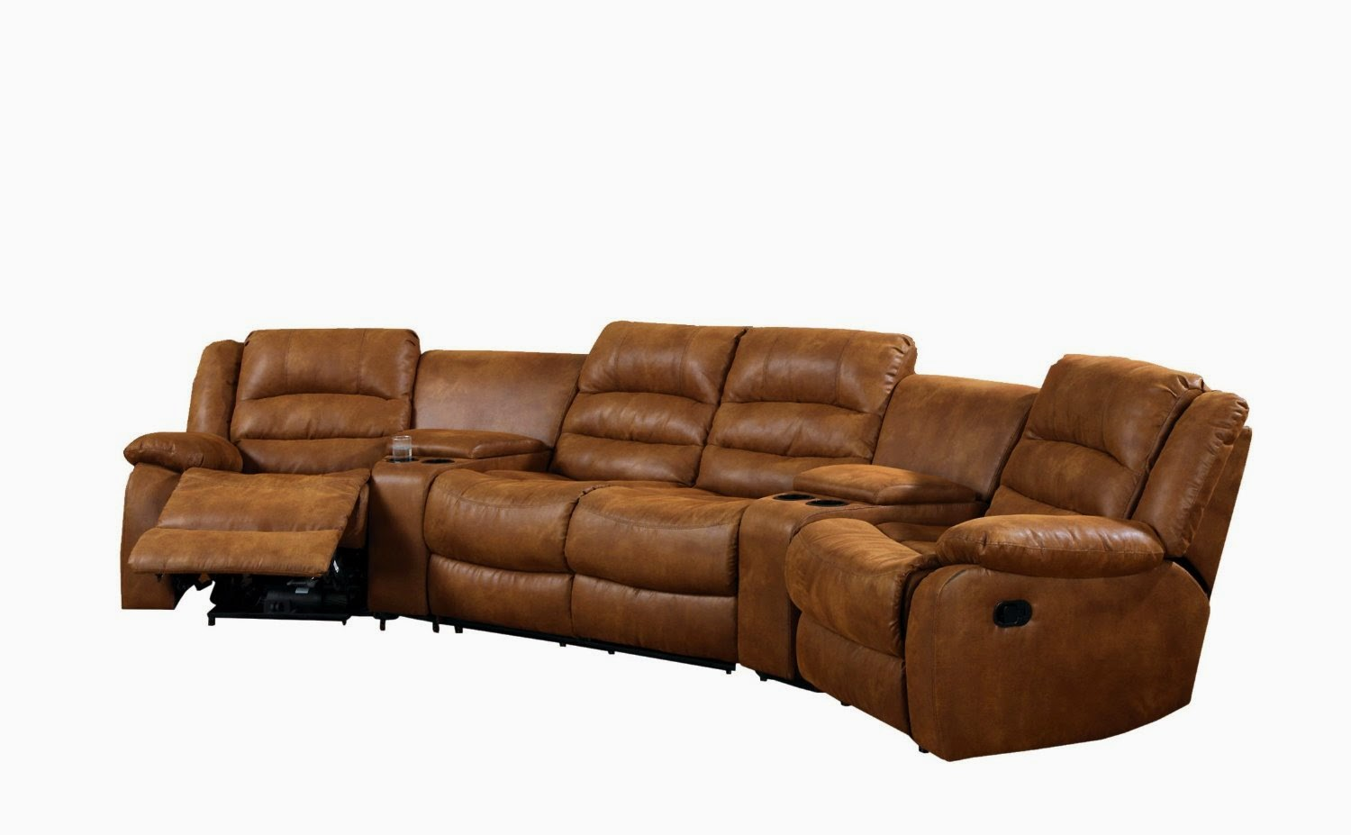 Reclinable Sectional Sofas Wooden Sofa Designs With Dimensions Best Reclining For The Money Whitaker Brown