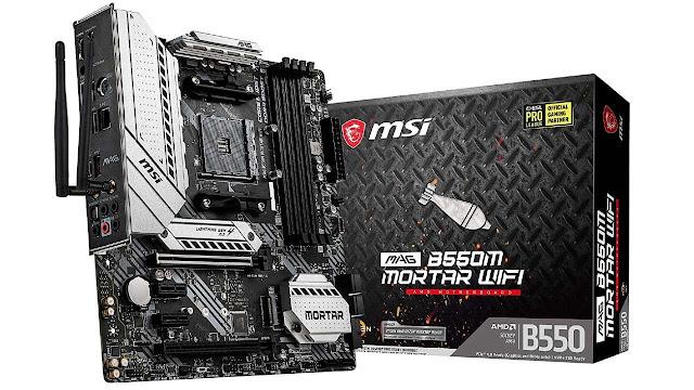 MSI MAG B550M Mortar Wi-Fi Gaming Motherboard