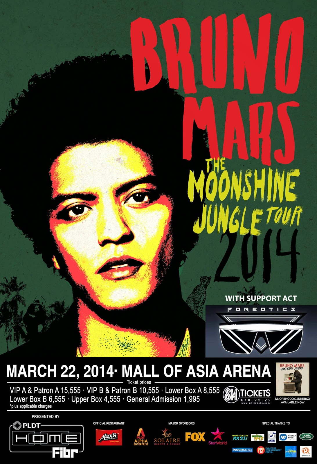 the moonshine jungle tour 2014 hits manila tomorrow night manila concert scene. Black Bedroom Furniture Sets. Home Design Ideas