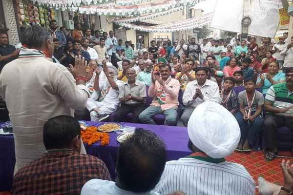 vijay-pratap-singh-appeal-to-vote-for-congress-in-badkhal-vidhansabha