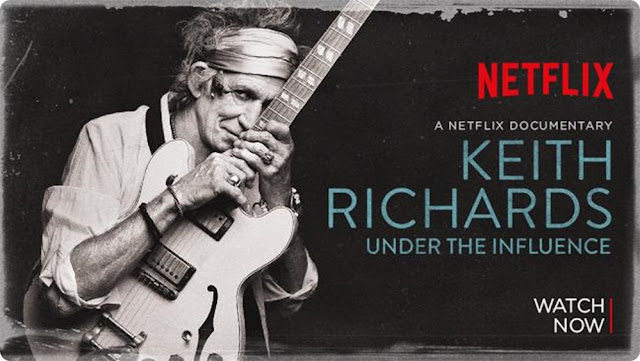 keith richards under the influence netflix, documentário bom no netflix, keith richards, blog de casal